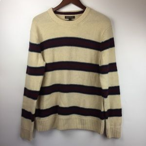 NWT Banana Republic Mens L Modern Stripe Sweater